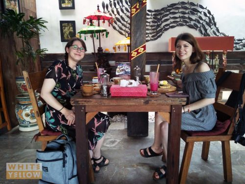 lunch with your friend at White Yellow Restaurant