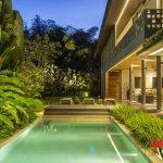 luxurious private pool at villa casabama