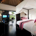luxury bedroom at villa rumah lotus