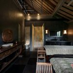 luxury spa area at villa rumah lotus