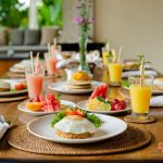 get a breakfast at villa cemadik2