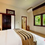 view from bedroom to the outdoor at sandat room