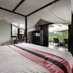 outside view bedroom at villa rumah lotus