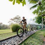 get the bike to ride around villa kelusa