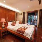 honeymoon theme for bedroom at villa griya atma