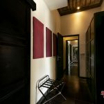 to wardrobe area at villa rumah lotus