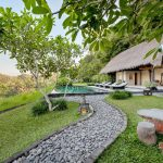 villa kelusa pondok sapi with private pool and rice field view