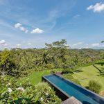 villa kelusa pondok surya swimmingpool view
