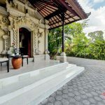 take a rest at terrace at villa cemadik