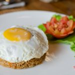 fried rice with egg for your breakfast at villa cemadik