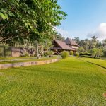 villa kelusa pondok surya garden with rice fields
