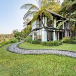 villa kelusa pondok sapi with valley view and nature design