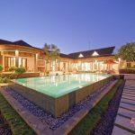 pool view at villa griya atma at night3