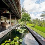 mini pool and valley view at villa kelusa pondok sapi2