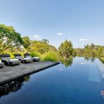 enjoy your holiday with private swiming pool at villa kelusa pondok surya