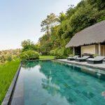 private pool and valley view at villa kelusa pondok sapi2