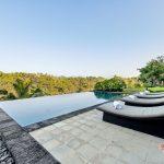 private pool with swimming pool at villa kelusa pondok sapi