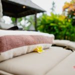 free use a towel after swimming at villa cemadik