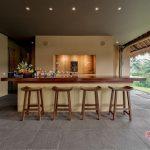 mini bar at villa kelusa pondok surya