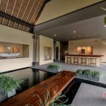 mini bar view at villa kelusa pondok surya