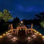 our service to set romantic theme at villa kelusa