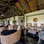 living room at villa kelusa pondok sapi