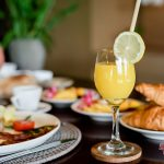 orange juice is good for your healty , get it at villa kelusa pondok surya