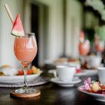 watermelon juice at villa kelusa pondok sapi