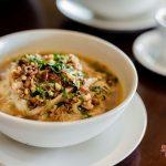 indonesian soup for you at villa kelusa pondok surya