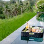 floating breakfast at villa kelusa pondok sapi2