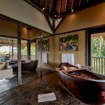 our bathtube view at villa kelusa pondok surya2