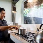 our team cook for your breakfast at villa kelusa pondok sapi