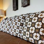pillow at villa kelusa pondok sapi