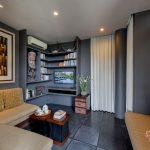 the lounge at villa kelusa pondok sapi
