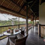 enjoy your time to view the nature at villa kelusa pondok surya lounge