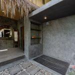 our shower at villa kelusa pondok surya