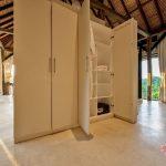 an elegant cupboard design at villa kelusa pondok sapi