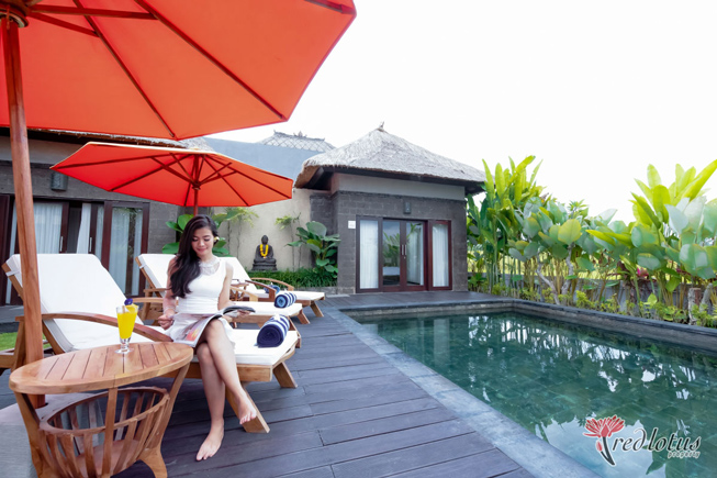 Stay in Villa Casabama that offer Private pool ather than Hotel in Ubud
