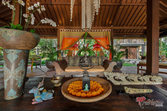 Stay in Villa having more balinese and ubud touches rather than Hotel in Ubud