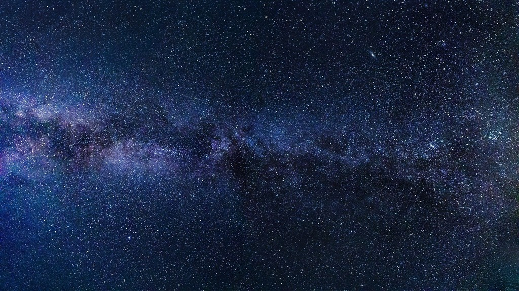 Starry sky in the Nyepi Evening