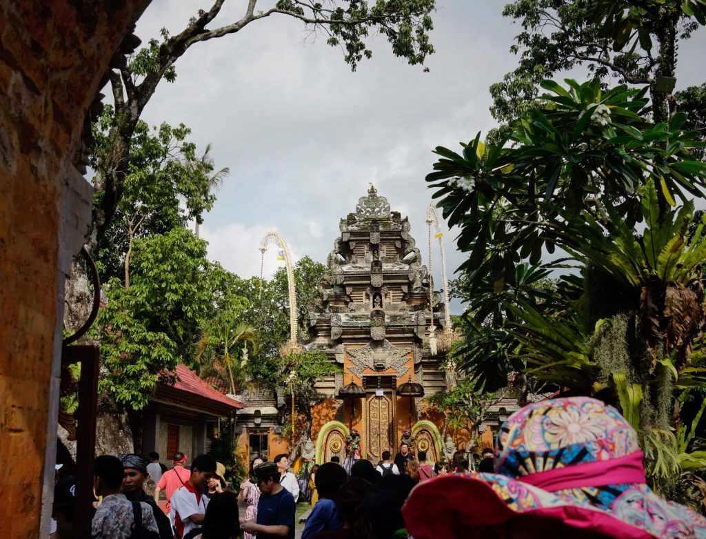 Culture-based tourism - Ubud royal palace