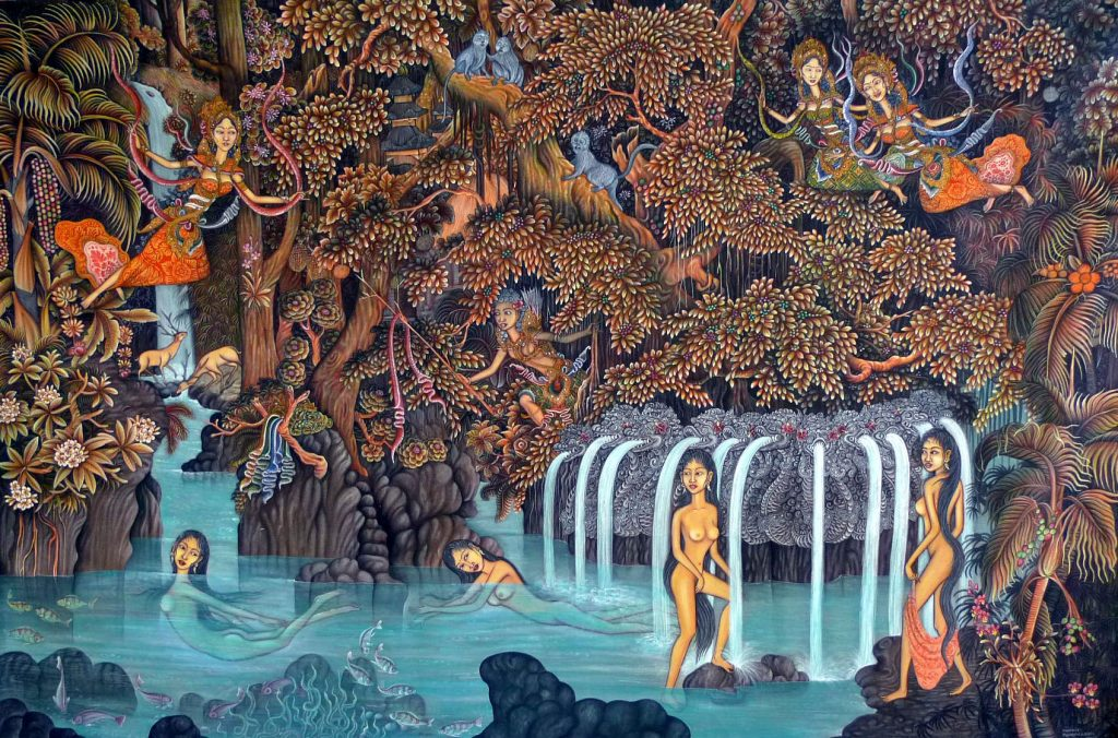 The house of artists - Balinese painting