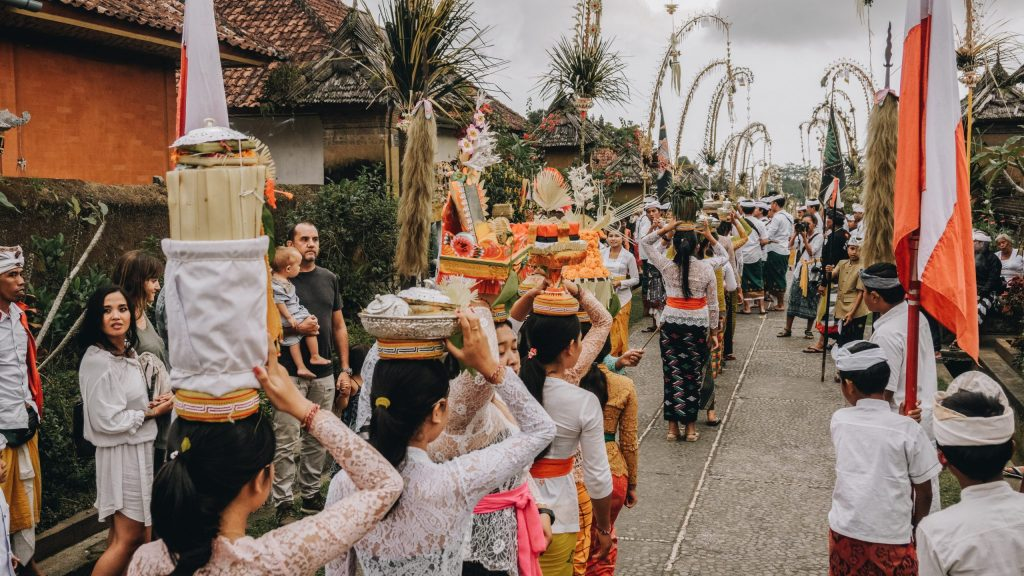 Check out the local ceremonies nearby