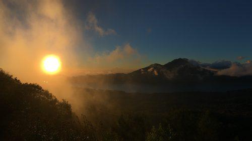 Hiking Mount Batur
