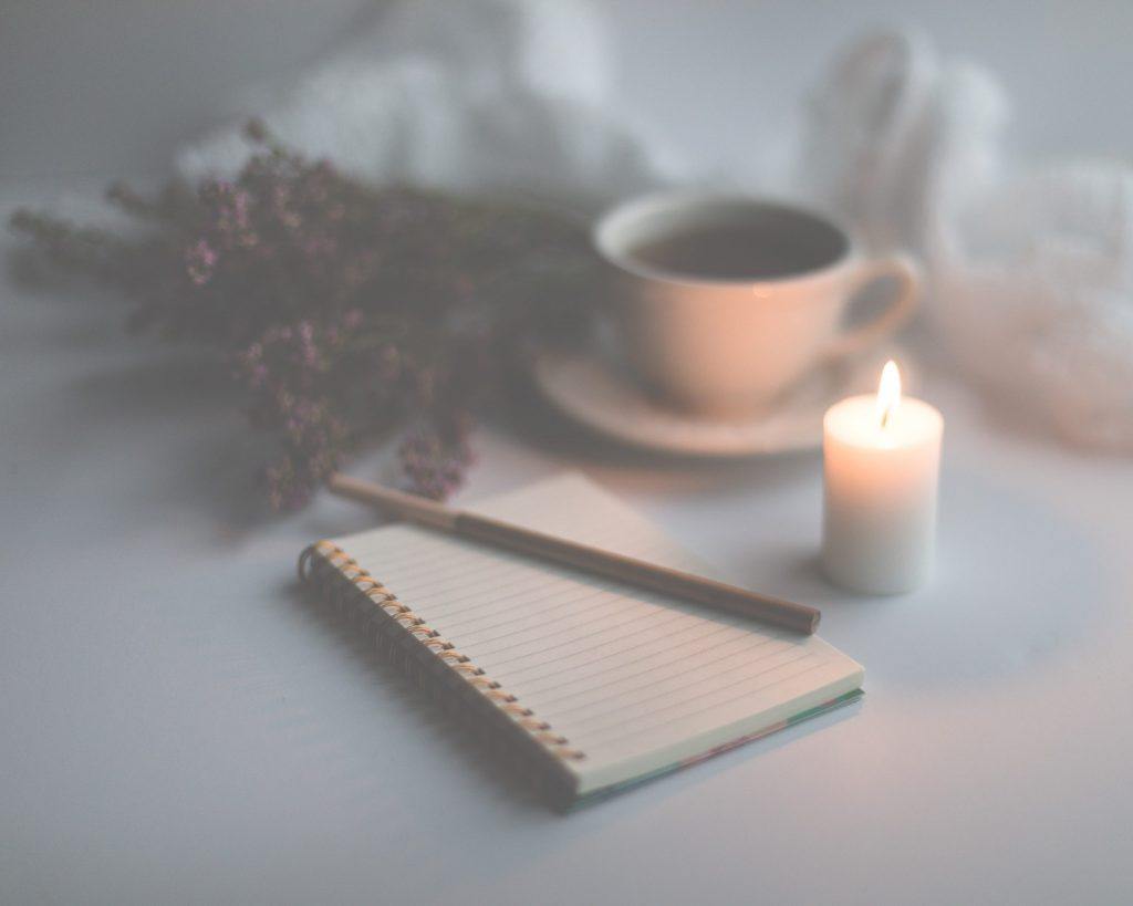 Journaling to keep the moments