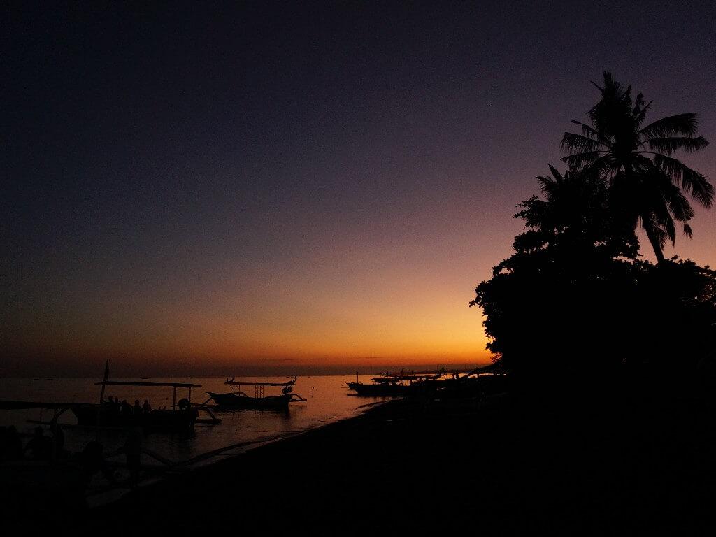 Dark sky on Nyepi Day