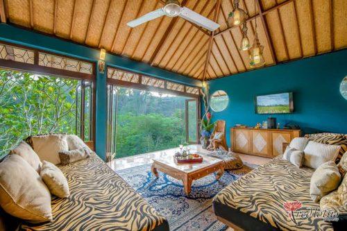 Ubud private villa with a pool: Villa Umah Shanti